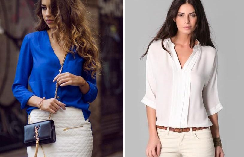 2a0136dd394 Стильные блузки из шифона. Розовая шифоновая блузка. С чем носить ...