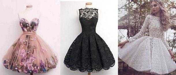a2731008c657 Najkrajšie nadýchané šaty na ples. Módne šaty na ples  elegantné ...