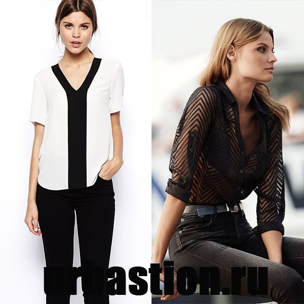 12f426625161 Obzvlášť originálna blúzka košeľa vyrobená z monofónnej látky alebo  pruhovaného. Tieto štýly sú vhodné pre plné dievčatá a aby išli do nich  pracovať v ...